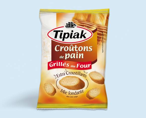 Croutons pain grille nature TIPIAK
