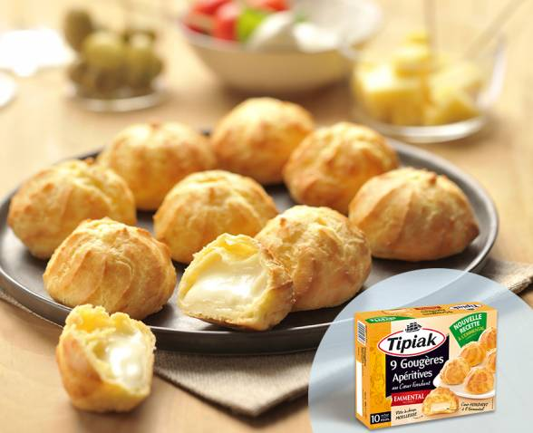 Gougeres aperitives emmental TIPIAK