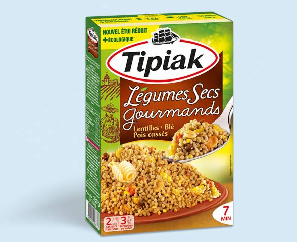 Legumes secs gourmands TIPIAK