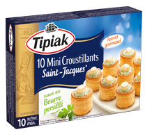 10 mini croustillants saint jacques listing TIPIAK