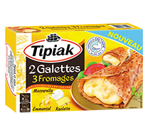 Galettes 3 fromages TIPIAK